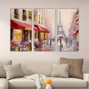 Τρίπτυχος πίνακας Paris