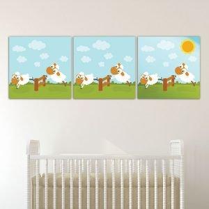 Παιδικοί καμβάδες Προβατάκια