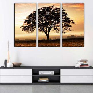 Τρίπτυχος πίνακας Δέντρο Νο 4