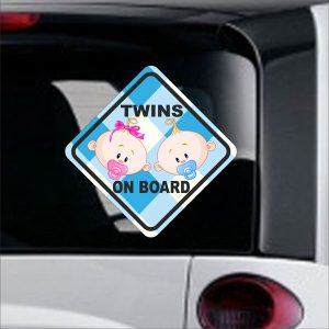 Baby On Board sticker No 21