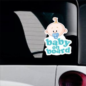 Baby On Board sticker No28