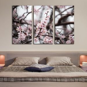 Τρίπτυχος πίνακας Blossom no 34