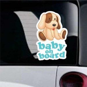 Baby On Board sticker No27