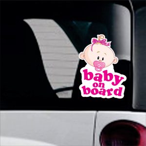 Baby On Board sticker No29