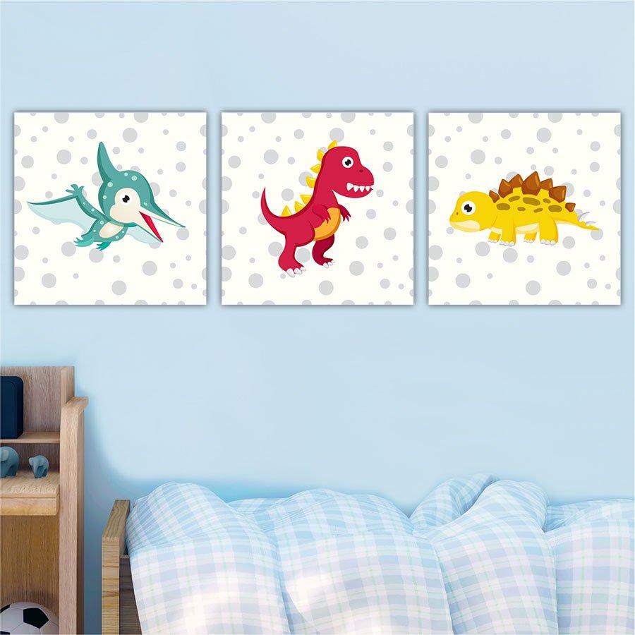 Παιδικοί καμβάδες δεινόσαυροι