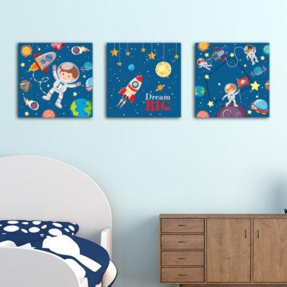 Παιδικοί πίνακες σε καμβά Dream Big