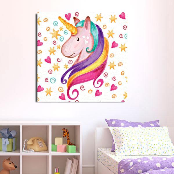Παιδικός πίνακας μονόκερος