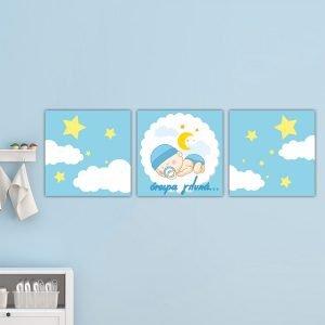 Παιδικοί πίνακες σε καμβά όνειρα γλυκά