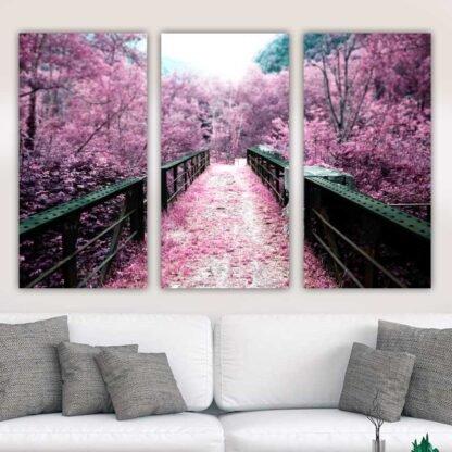Τρίπτυχος πίνακας Ροζ Πέρασμα