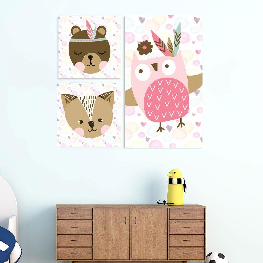 Παιδικοί πίνακες Zoo Animals No5