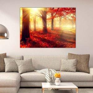 Φωτεινό Μονοπάτι πίνακας σε καμβά