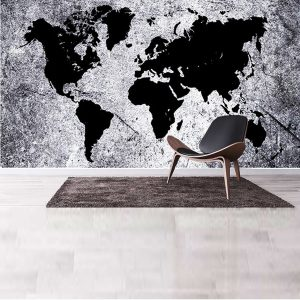 Ταπετσαρία τοίχου Abstract World Map