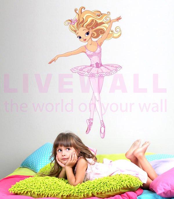Μπαλαρίνα Fantasy αυτοκόλλητο τοίχου