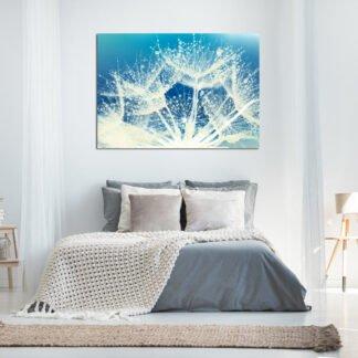 Dandelion Blue πίνακας σε καμβά