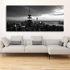 New York No 7 πανοραμικός πίνακας σε καμβά