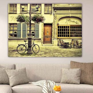 Πίνακας σε καμβά Ποδήλατο