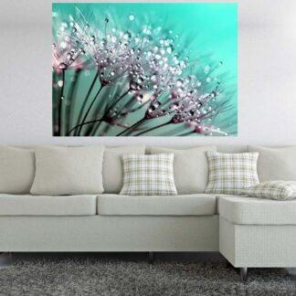 Dandelion πίνακας σε καμβά