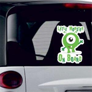 Αυτοκόλλητο Little monster On Board sticker No30