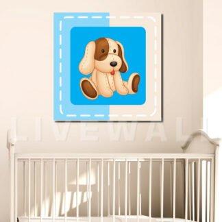 Παιδικός πίνακας σκυλάκι