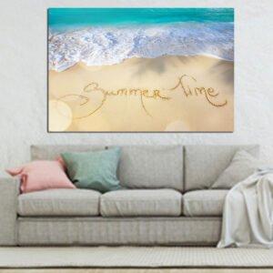 Πίνακας σε καμβά Summer time