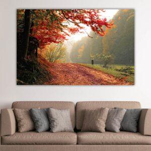 Fall Trees πίνακας σε καμβά (φθινοπωρινά δέντρα)