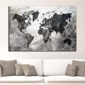 Industrial World map
