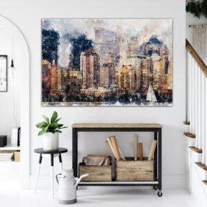 New York Artistic – πινακας σε καμβα