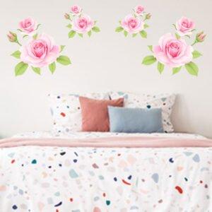 Αυτοκόλλητα τοίχου τριαντάφυλλα Νο2
