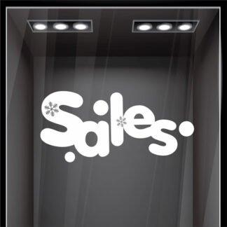 Sales με νιφάδες