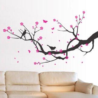 Αυτοκόλλητο τοίχου κλαδί κερασιάς