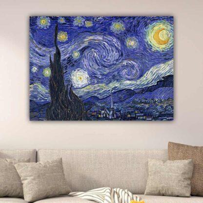 Starry Night πίνακας σε καμβά