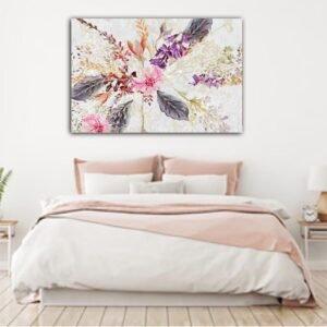 Floral Artistic πίνακας σε καμβά No2