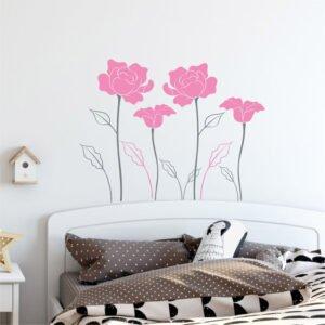 Αυτοκόλλητα τοίχου Sweet Roses