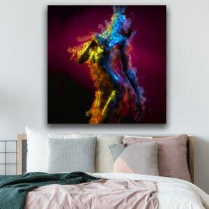 Abstract Woman πίνακας σε καμβά