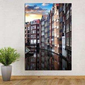 Amsterdam πίνακας σε καμβά
