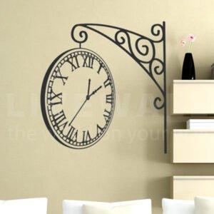 Αυτοκόλλητο τοίχου Tick Tock …. Clock!