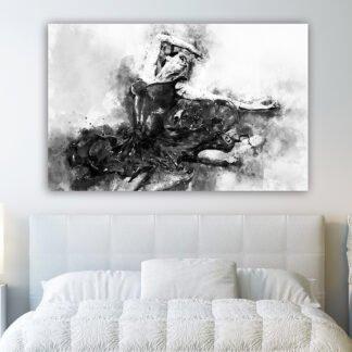 Catamarans oil painting effect πίνακας σε καμβά