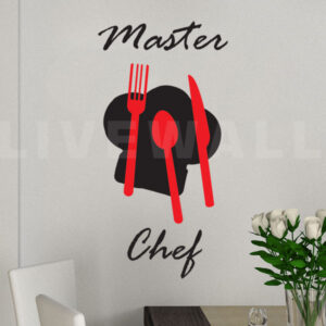 Αυτοκολλητα τοιχου Master Chef