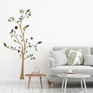 Αυτοκόλλητο τοίχου Minimal Tree