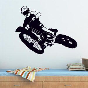 Αυτοκόλλητο Motocross