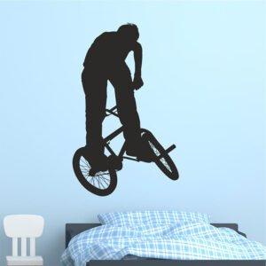 Αυτοκόλλητο τοίχου BMX