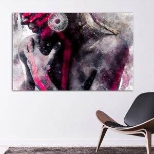 Painted Girl no2 πίνακας σε καμβά