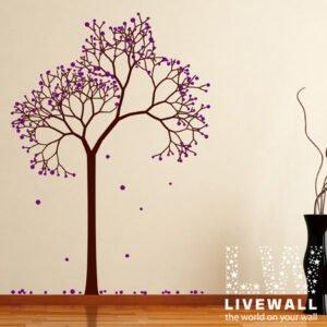 Αυτοκόλλητο τοίχου Δέντρο με καρπούς