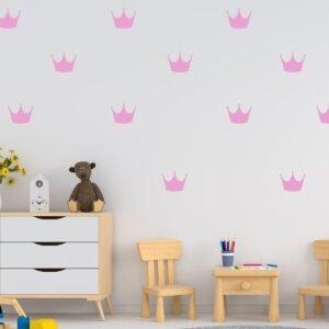 Αυτοκόλλητα τοίχου κορώνες