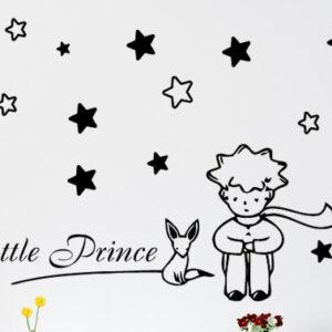Αυτοκόλλητο τοίχου Μικρός πρίγκιπας Little Prince