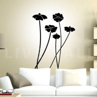 Αυτοκόλλητα τοίχου Poppies