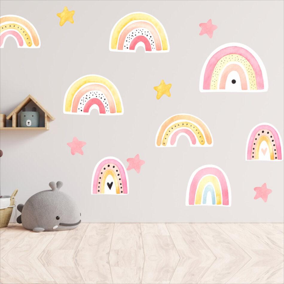 Αυτοκόλλητο τοίχου Rainbow