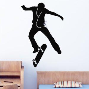 Αυτοκόλλητα τοίχου skate