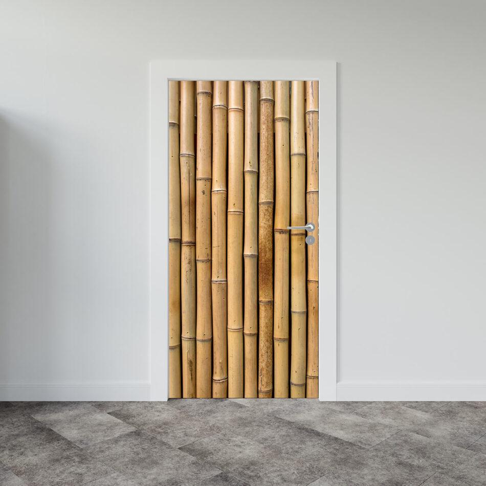 Αυτοκόλλητο πόρτας Bamboo