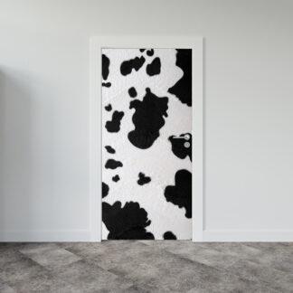 Αυτοκόλλητο πόρτας Cow